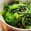 Green Salad with Seaweed Wakame